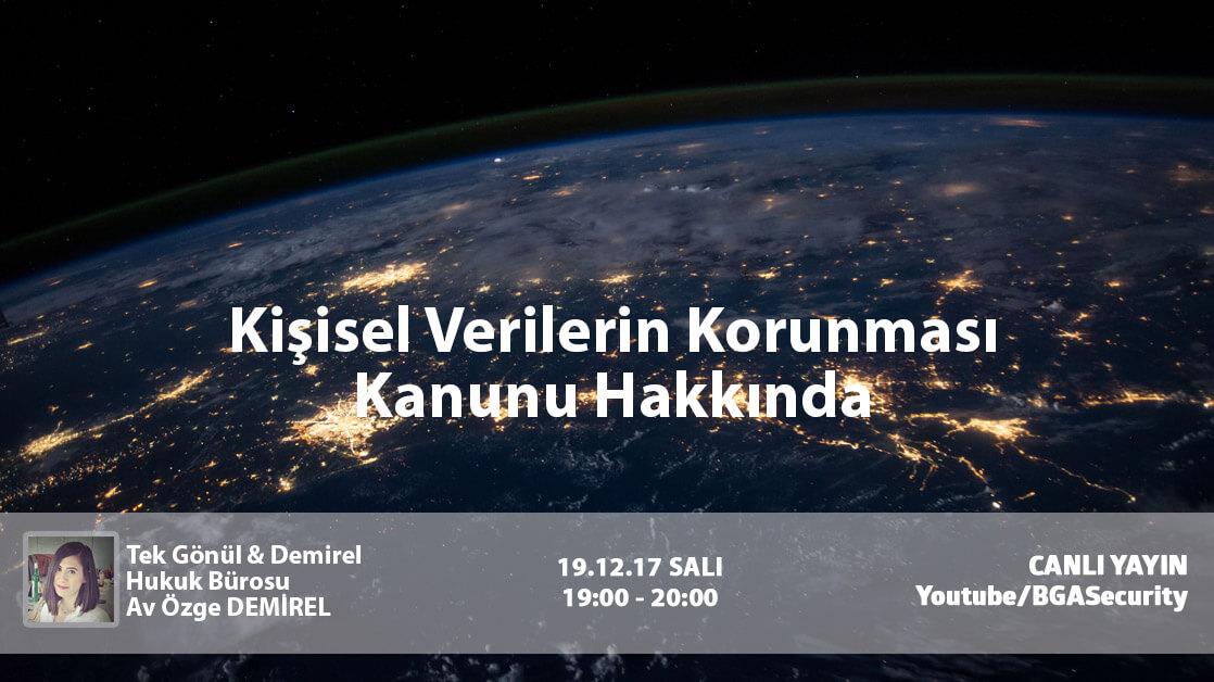 KVKK Webinar kişisel verilerin korunması kanunu