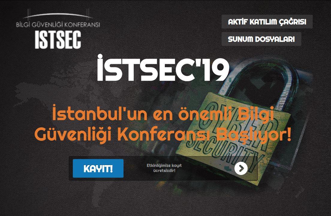 istsec istanbul bilgi güvenliği konferansı