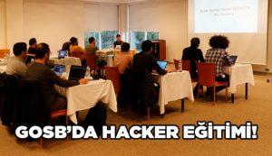 GOSB'da Hacker Eğitimi